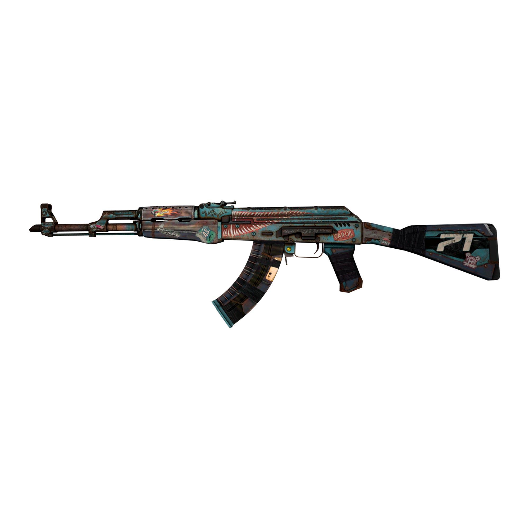 Skin AK-47 Rat Rod