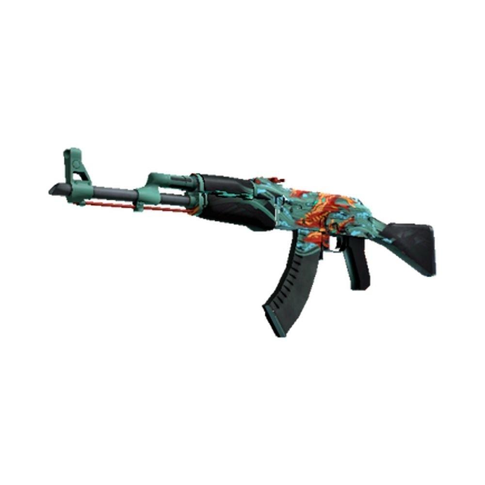 Skin MDF AK-47 Vingança Aquamarine