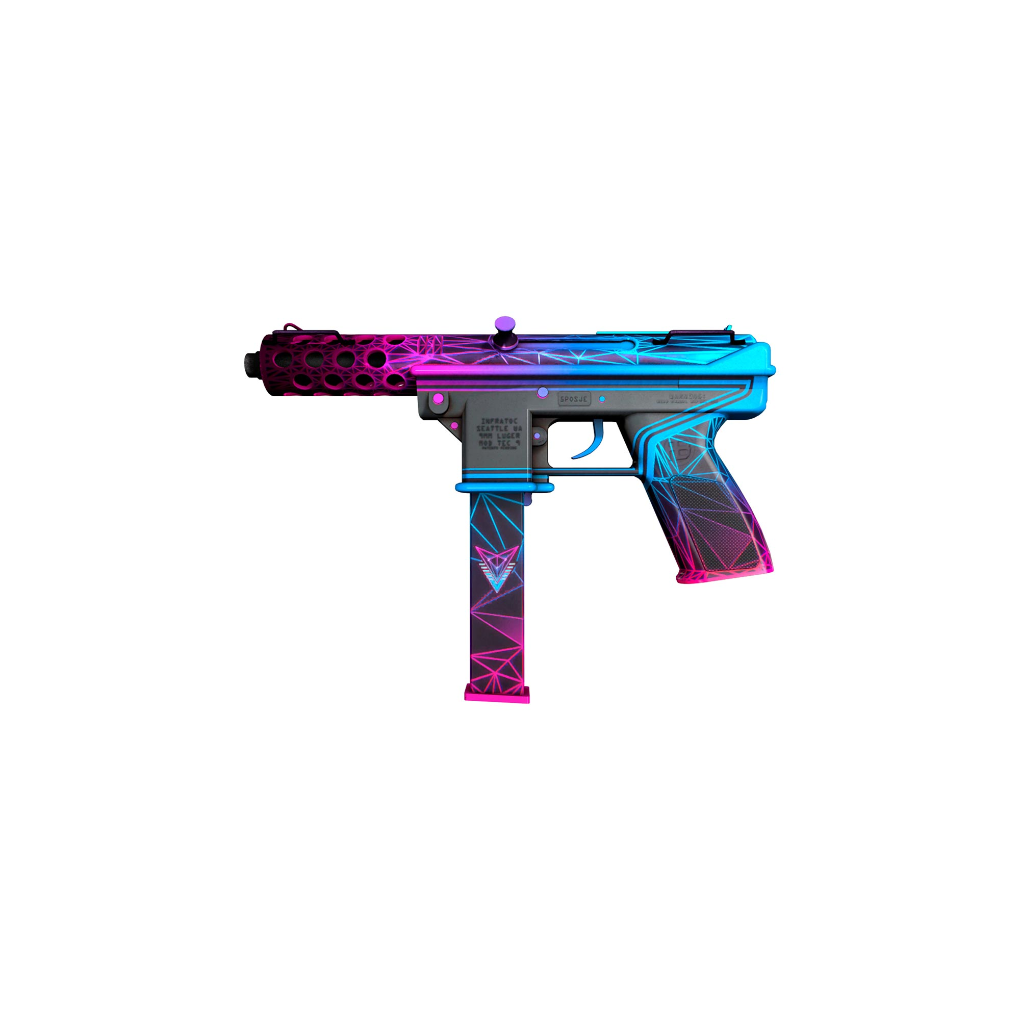 Skin TEC-9 Dizimadora