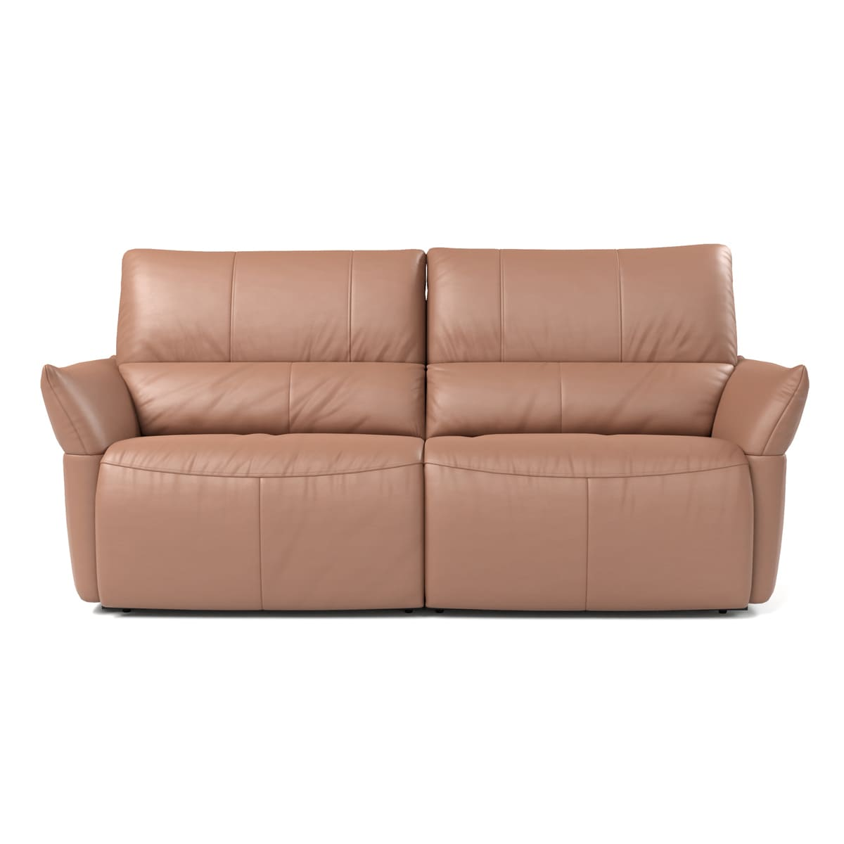 Image of: Sofa Retratil Alay Couro 2 Lugares Sofa Perfeito Para Sua Casa Sofa 2 Lugares Voktum