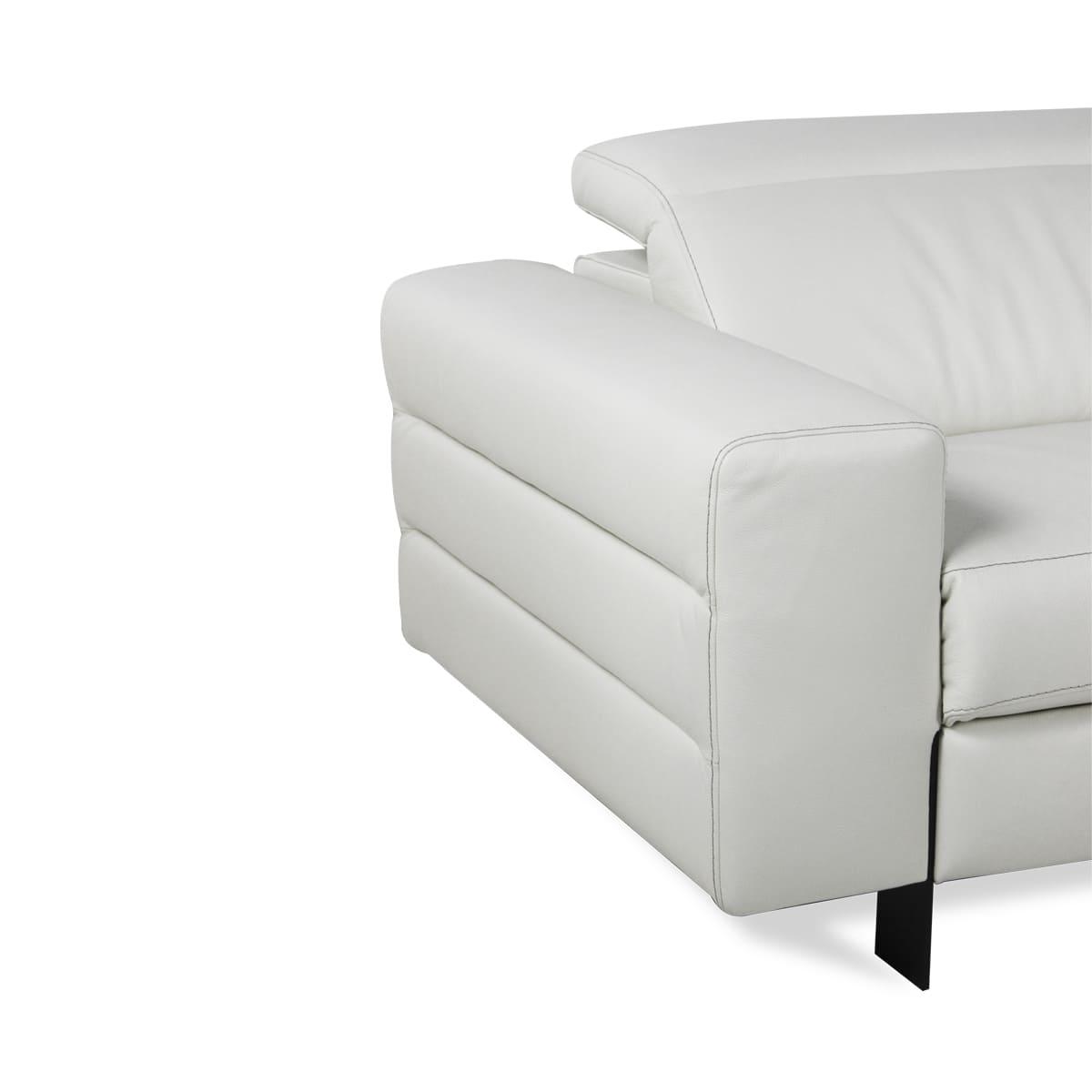 Image of: Sofa Retratil Otis Couro 3 Lugares Sofa Perfeito Para Sua Casa Sofa Retratil Voktum