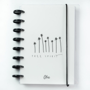 Caderno OBA A5  Free Spirit (Preto)