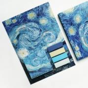 Kit Post It Van Gogh