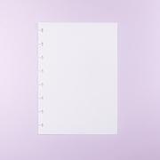 Miolo OBA A5 – Liso Branco