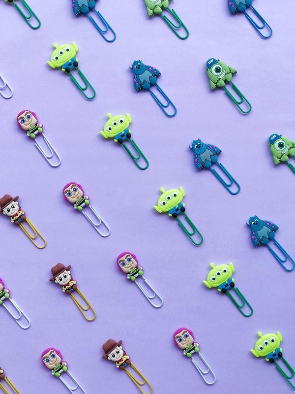 Clips Personagens Pixar