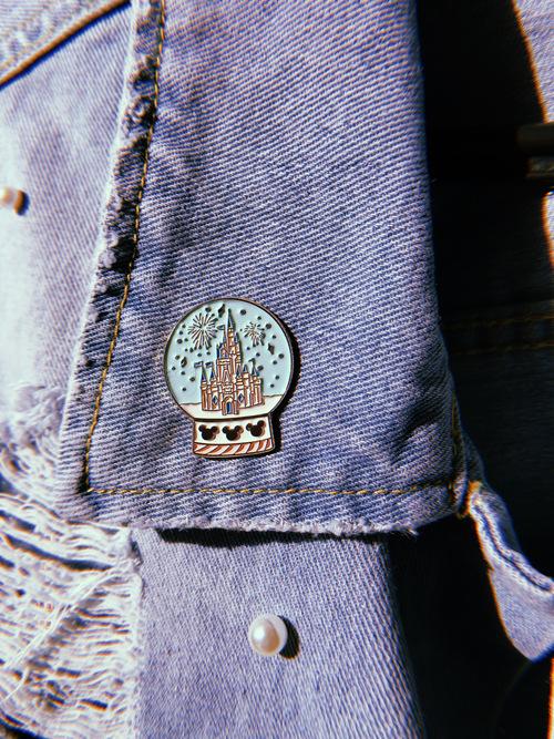 Pin Broche Castelo Disney
