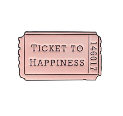 Pin Broche Ticket