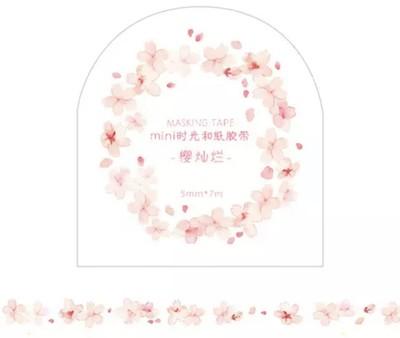 Washi Tape Fininha Flores
