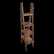 Estante estilo escada com 04 prateleiras