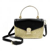 Bolsa com Alça Dourada