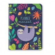 Caderno Planner Mensal Preguiça