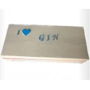 Caixa de Especiarias para Gim Letra Espelhada