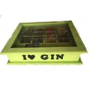 Caixa de Especiarias para Gim Verde