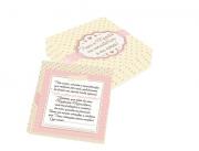 Caixa para Convite de Padrinhos de Menina