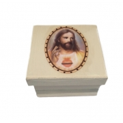 Caixinha MDF Jesus Cristo