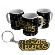 Caneca E Chaveiro League of Legends