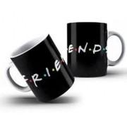 Caneca Friends Preta