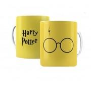 Caneca Harry Potter Amarela