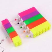 Caneta Marca Texto Lego