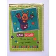 Cartão de Natal Amigo Secreto Rena