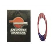 Carteira / Porta Documentos Repsol Honda Com Adesivo