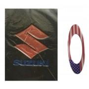 Carteira / Porta Documentos Suzuki Com Adesivo