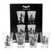 Conjunto 4 copinhos de shot Batman
