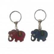 Kit 2 Chaveiros Elefantes