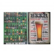 Kit 2 Placas MDF Beer