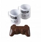 Kit Caneca e Chocolate Controle Playstation