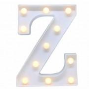Luminária letra Z