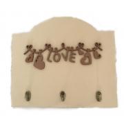 Porta-chaves Love