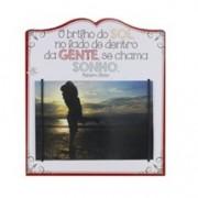 Porta-Retrato Romântico O Brilho Do Sol...