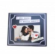 Porta-Retrato Scrapbook Muito Amor