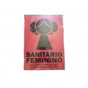 Placa MDF Sanitário Feminino Leia Star Wars