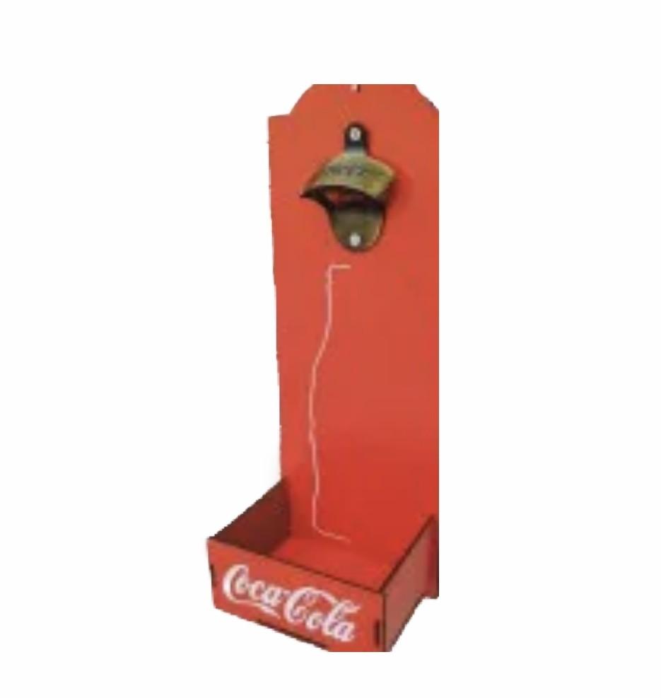 Abridor de Garrafas Coca - Caixa
