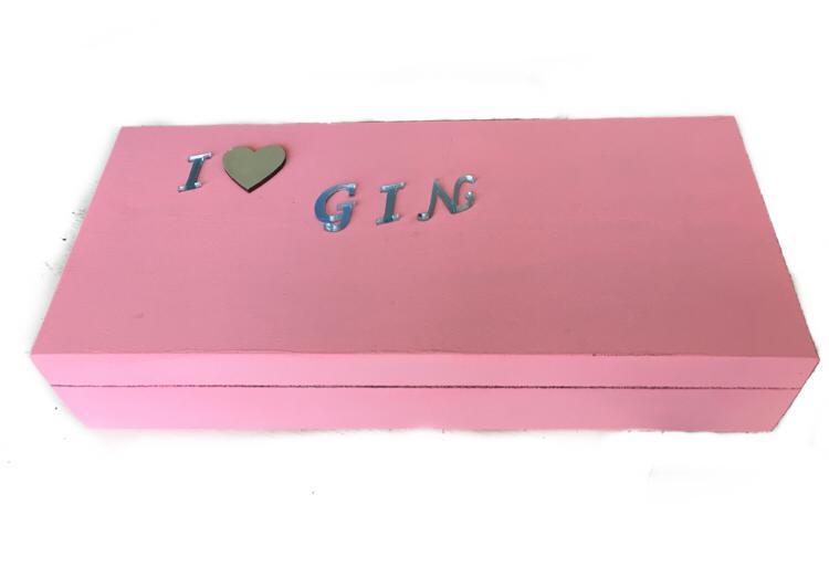 Caixa de Especiarias para Gim Rosa