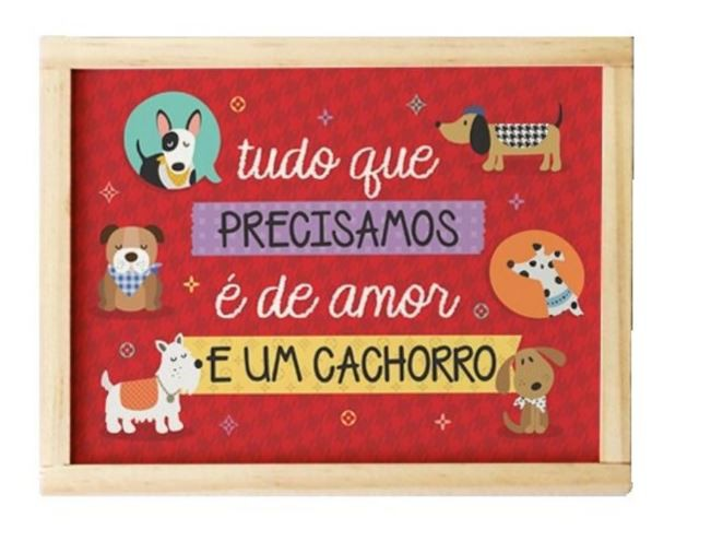 Caixa Organizadora Madeira Dogs