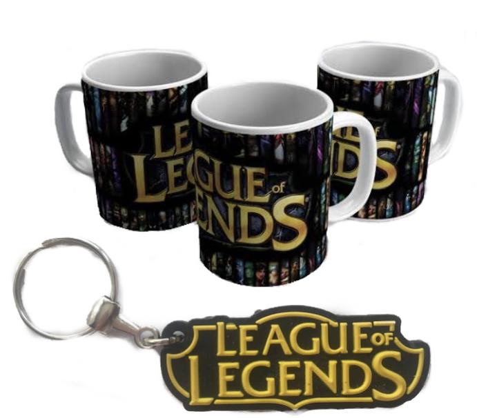 Caneca E Chaveiro League of Legends