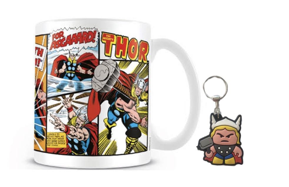 Caneca e Chaveiro Thor