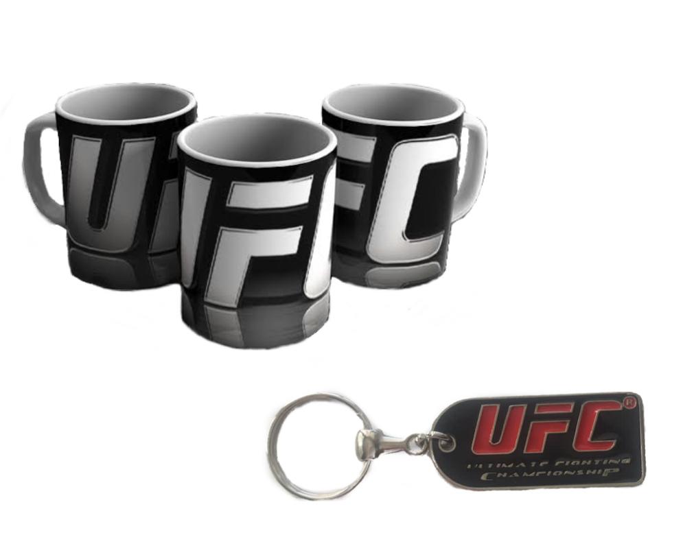 Caneca e Chaveiro UFC