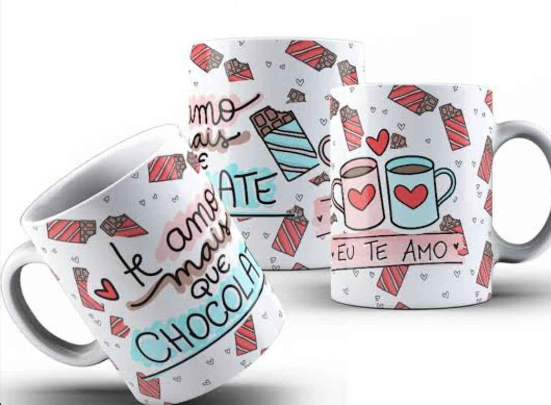 Caneca Páscoa Te Amo Mais Que Chocolate