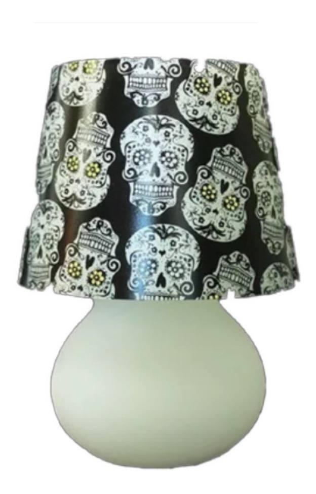 Capa para Micro Lampe Caveira