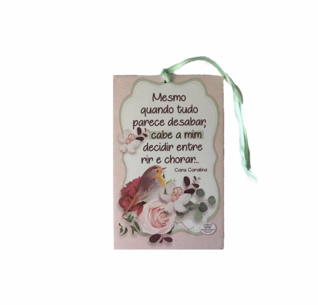 Cartão Placa Decorativa