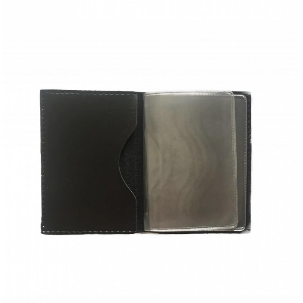 Carteira / Porta Documentos Cabo Enrolado Com Adesivo
