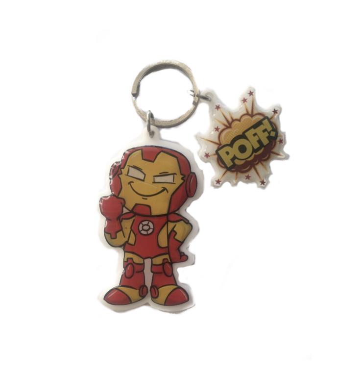 Chaveiro Acrílico Homem De Ferro