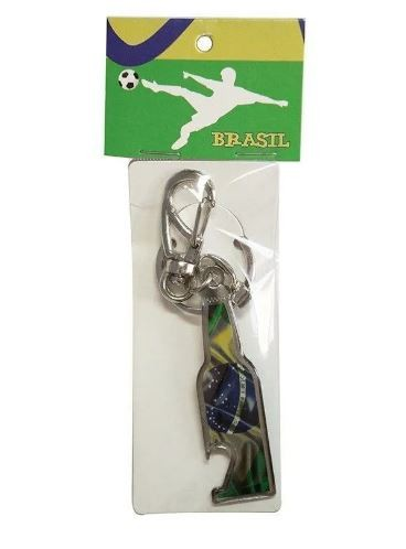 Chaveiro Brasil Garrafa