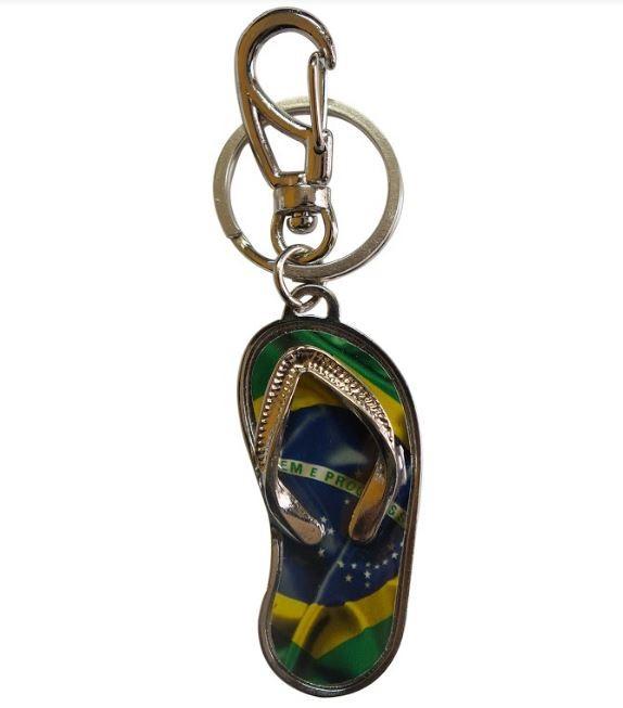 Chaveiro Chinelo Brasil