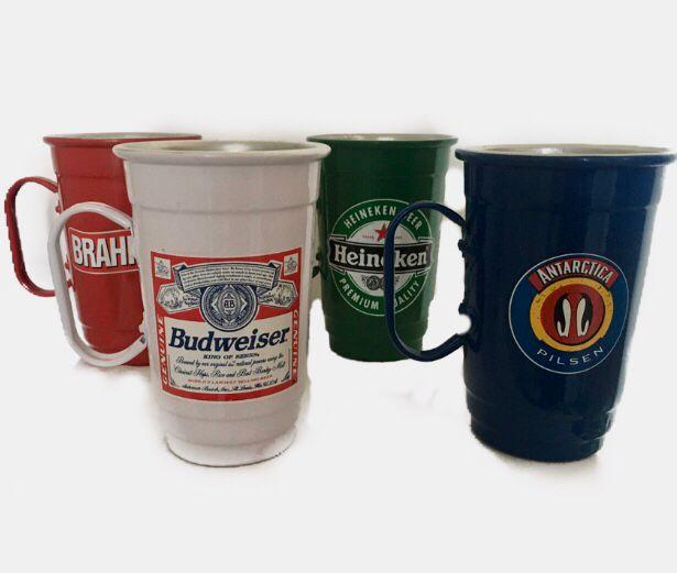Conjunto 4 Canecos de Cerveja