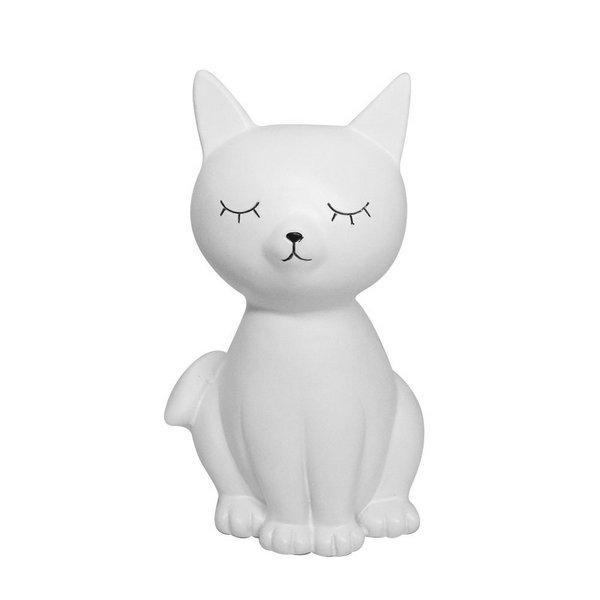 Gato de Enfeite e Cofre Porcelana